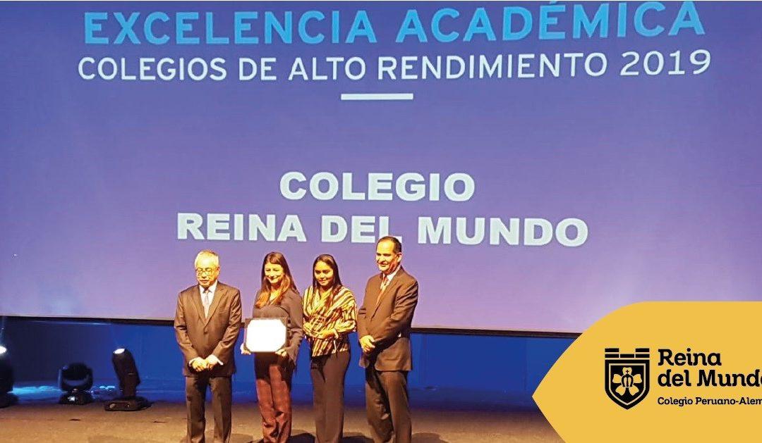 2. Reconocimiento a la Excelencia Académica 2019: Universidad del Pacífico