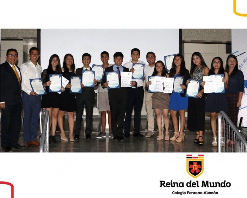 4. Entrega de diplomas del Bachillerato Internacional y Diplomas del DSD II